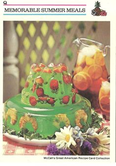 The Bad and Ugly of Retro Food.  Is that shrimp in the jello???!!