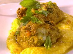 The Ultimate Meatballs al Forno with Creamy Polenta from FoodNetwork.com, Tyler's Ultimate