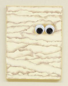 D.I.Y. Mummy Canvas