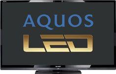 Sharp LC60LE635E 152 cm (60 Zoll) LED-Backlight-Fernseher, EEK A+ (Full-HD, 100 Hz, DVB-T/C/S2, CI+, SmartTV) schwarz