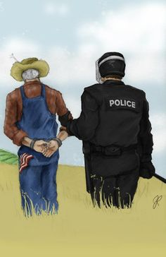 In the USA-what have we come to? DuPont sends in it's own private police force to enforce seed patents. NO SEED SAVING ALLOWED!!!!! EVERYTHING AMERICA IS AGAINST!