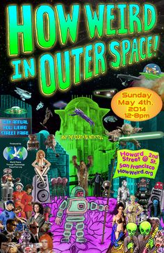 San Francisco's 15th Annual How Weird Street Faire
