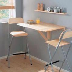 ikea wall, drop leaf, bar tables, kitchen tables, breakfast nooks, apartment kitchen, small kitchens, laptop, breakfast bars