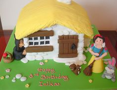 Snow white cake by deborah hwang, via Flickr