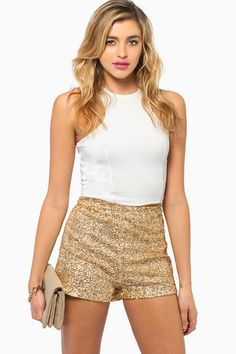 Yes! Sequin shorts!