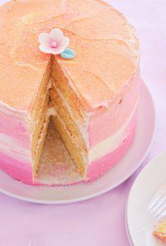 Orange Party Cake