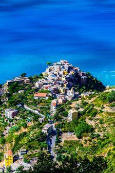 Corniglia, Cinque Terre , Italy  #italy #vacation #travel #ocean #coast