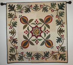 quilt wall, wallhang, leaf quilt, fall quilts, mini quilt