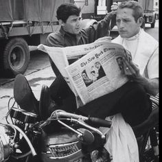 Paul Newman on Triumph