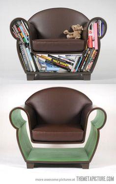 Hollow Bookchair