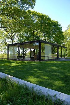 The Glass House, Philip Johnson.