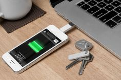 This compact and lightweight Charger Key is designed for powering up and syncing on the go.