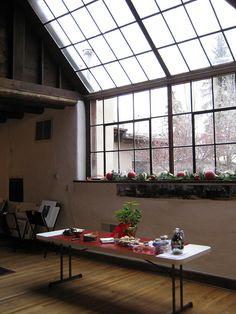 Nicolai Fechin's studio
