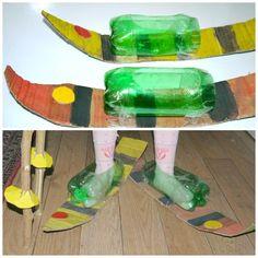 Make Indoor Play Skis