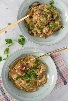 Recipe: Mushroom Risotto