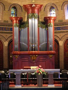Teteringen - RC Church of Saint Willibrordus, organ by pietbron, via Flickr