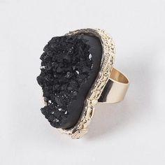 Black Stone divorce ring