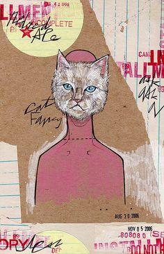 F MINUS aka CAT MASK by MATTY