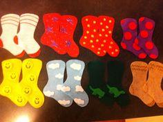 Let the Wild Rumpus Start: Flannel Friday - Socks!