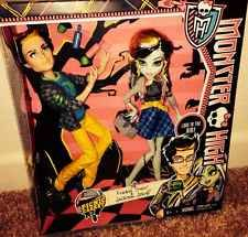 Monster High Picnic Casket JACKSON JEKYLL And FRANKIE STEIN 2-pack NEW In Hand