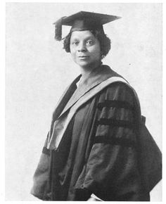 Georgiana Simpson was one of of the three first black women to earn a PhD in 1921, along with Sadie Tanner Mossell and Eva Beatrice Dykes. Simpson earned a doctorate in German from the Univerity of Chicago at the age of 55. After graduating she returned to her work in the Washington DC school system and later taught German at Howard University. #BlackHistory