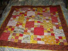Rupert Bear quilt made by TansyRR for my godson Felix