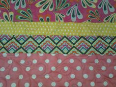 Quilted4You: New baby quilt by Quilted4You #quilting #longarm