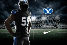 BYU annnounces black and blue uniforms
