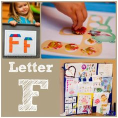 Home #Preschool Letter F