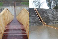 Moses Bridge Astonishingly Splits Water - My Modern Metropolis