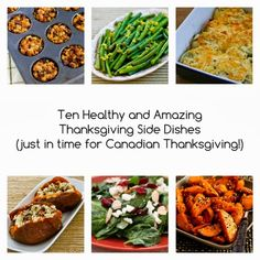 Ten Healthy and Amazing Thanksgiving Side Dishes (just in time for Canadian Thanksgiving!) [from KalynsKitchen.com]