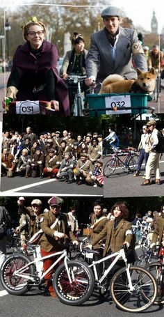 Tweed run Tokyo e bicicletadas pelo mundo #bicicleta #bike #tweedrun #tokin #fun
