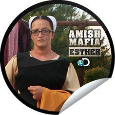 Steffie Doll's Amish Mafia: Esther Sticker | GetGlue