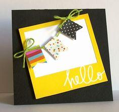 Card idea. So cute.