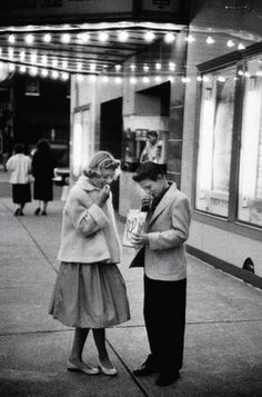 Going to the movies 1957