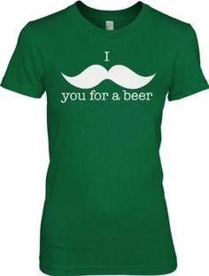 cloth, mustach, st patricks day, st patti, beer shirt, funni st, t shirts, shirt funni, black friday