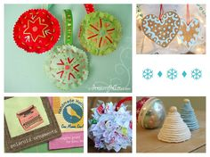 Kids Ornament Tutorials