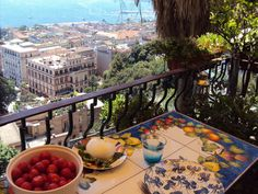 Balcony in Naples.