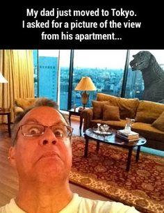 Crazy cool dad