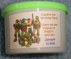Play Dough Party Favors