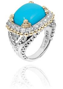 Designer Turquoise Jewelry Collection, Colored Stone Rings   Vahan Jewelry
