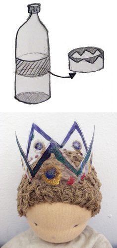 Pet bottle crown