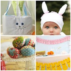 All of the 22 Easter sewing projects in this collection will put a smile on your face and put your sewing skills to good use. Welcome Spring and Easter with these cheerful Easter sewing patterns.
