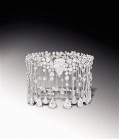 Chanel Diamond Cuff Bracelet