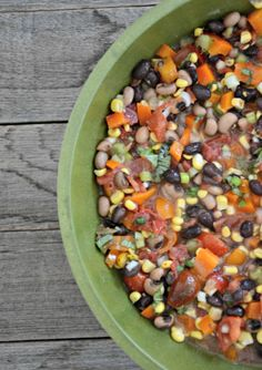 Mountain Mama Caviar with Black Beans & Black Eyed Peas www.mountainmamacooks.com