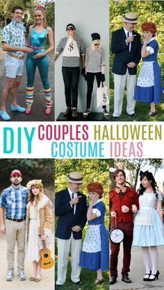 If you're looking for the perfect DIY Couples Halloween  Costumes , you've got to check these out! DIY them and make them to suit you  and your significant other. #halloween #happyhalloween  #trickortreat #halloweenparty #halloweenfun #crafts #craftideas #DIY  #halloweenDIY #halloweencraft #projects  #diycrafts #diyprojects #fundiys #funprojects #diyideas #craftprojects  #diyprojectidea