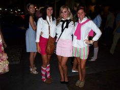 Preppy Pi's and Polo Guys Crush Party-ADPi at Mercer.
