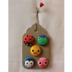 SO freakin cute! Fabric covered buttons $6