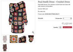 Paul Smith's Granny Squares Dress  ❥ 4U // hf