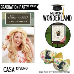 Entertaining Weekly: Congratulations, You Did It! Graduation Party Ideas #graduation #party ideas